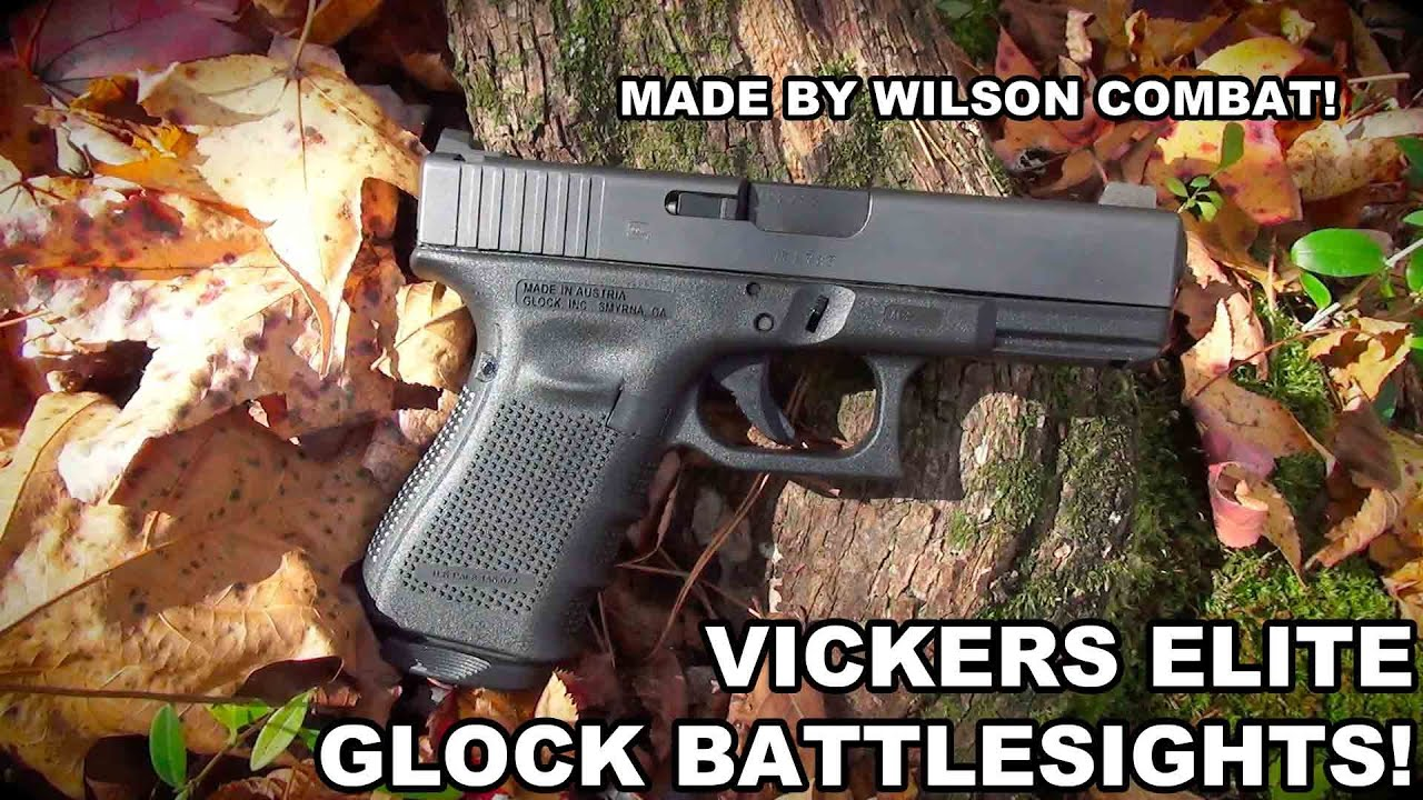 Vickers Elite Snag Free Front Sight | Green Fiber Optic