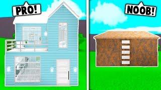 NOOB VS PRO 5x5 casa desafio em BLOXBURG! Roblox
