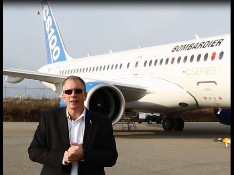 Dubai Airshow - CSeries Program News with Rob Dewar