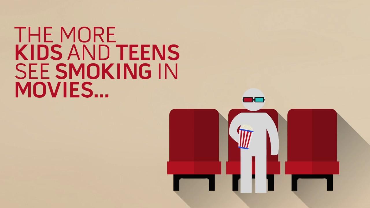 Smoke-Free Movies Infographic