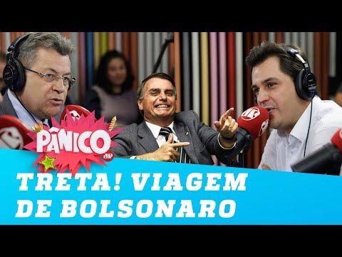 Treta! Deputado do PT detona viagem de Bolsonaro e discute com deputado do PSL