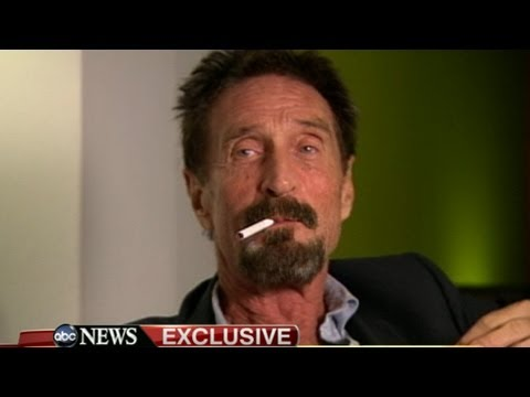 John McAfee, Antivirus Software Mogul, Back in US, Free for Now