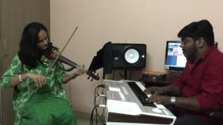 Anuragathin Velayil | Roopa Revathi Violin | Shaan Rahman | Vineeth Sreenivasan