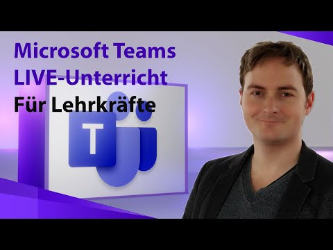 Microsoft Teams 365 Für Lehrer - Live Unterricht Durchführen & Video Aufzeichnen, Videokonferenz