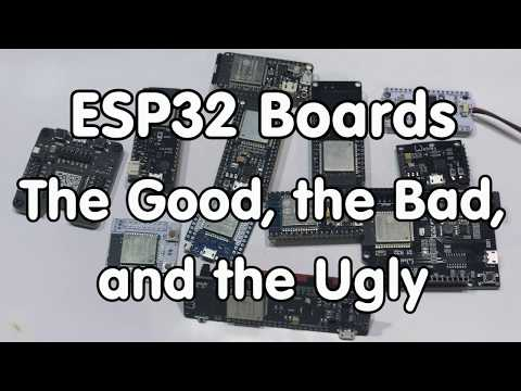 #159 Big ESP32 Boards Review and Test