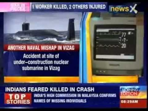 1 worker killed, 2 injured in accident at ship building centre in Vizag