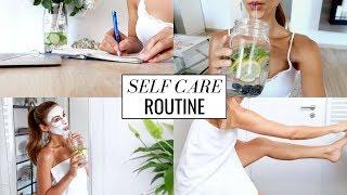 MY SELFCARE SUNDAY ROUTINE | Skin, Body, Mind | Annie Jaffrey | Ad