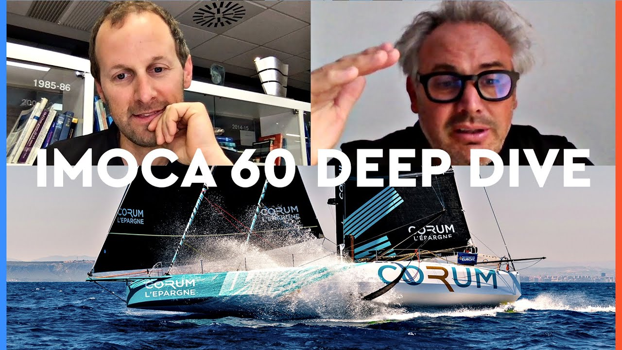 Deep dive into the IMOCA 60 design and foils (It's complicated!)   The Ocean Race