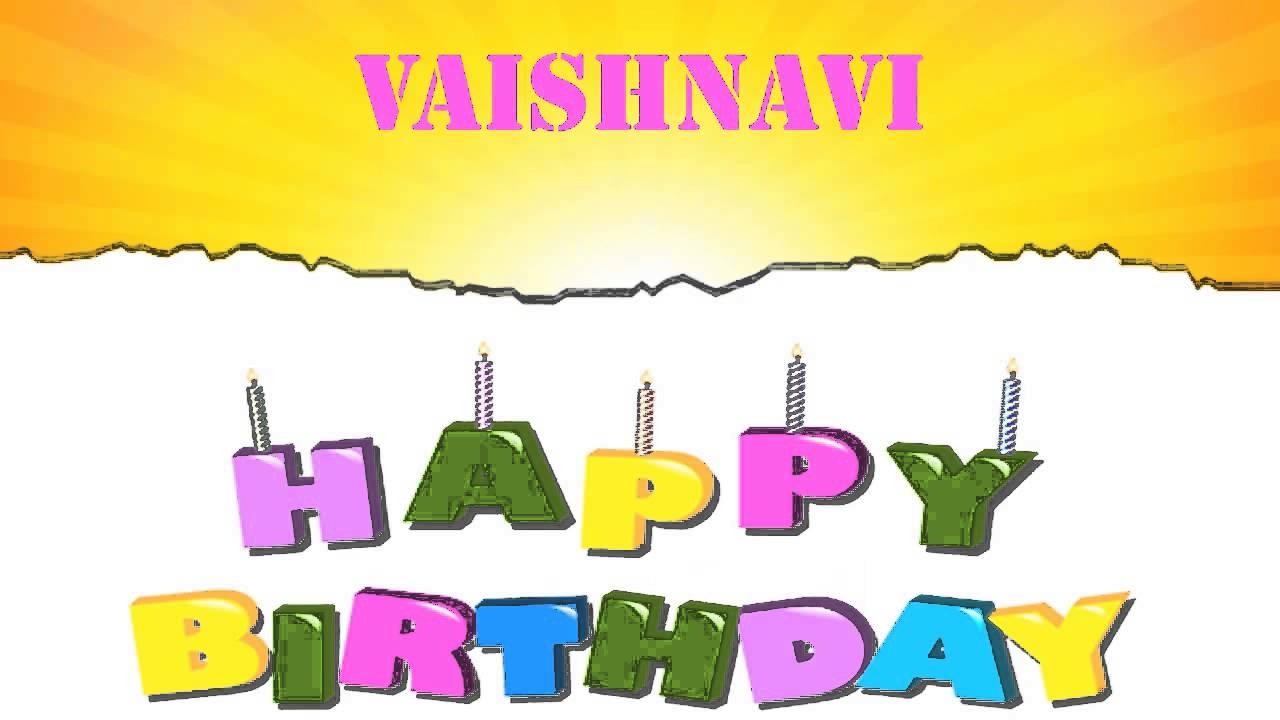 Vaishnavi Wishes Mensajes Happy Birthday