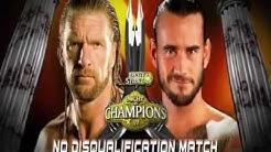 WWE Night Of Champions 2011 Full Match Card