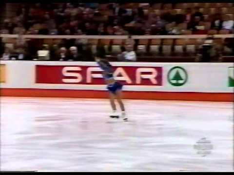 Tara Lipinski (USA) - 1995 World Juniors, Ladies