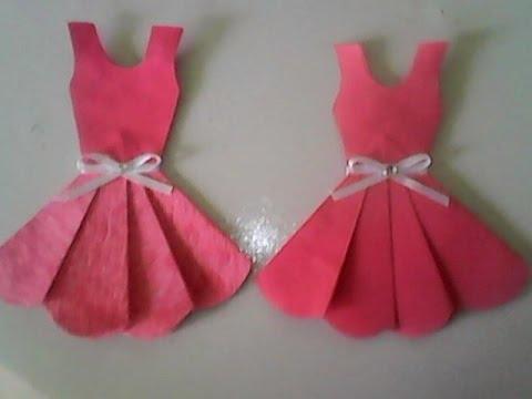 Favoritos Lembrancinha vestido bailarina imã de geladeira fácil, scrapbook  VO86