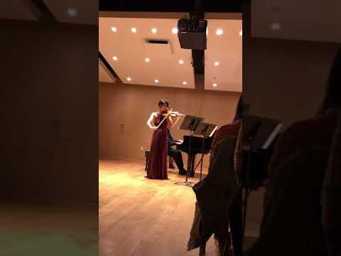 Debora Bang, Beethoven Violin Sonata no. 6