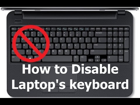 4 Ways To Disable A Laptop Keyboard - The Error Code Pros