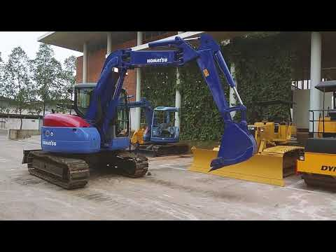 Jakarta Auctions -  Operator Test Komatsu PC78 Hydraulic Excavator