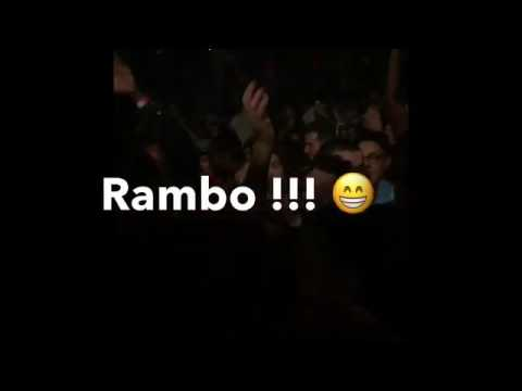 Culoe De Song dropping Rambo for the first time at Paris.