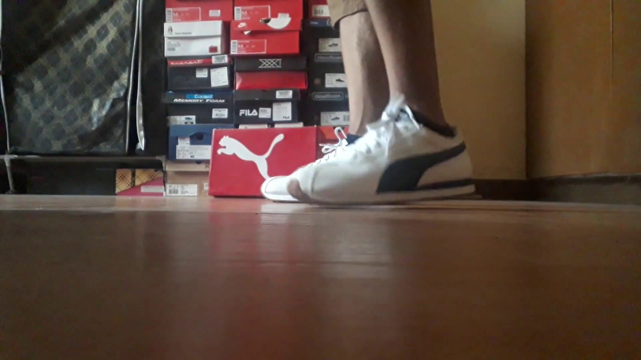 check out db391 b695d PUMA TURIN SNEAKERS ON FEET