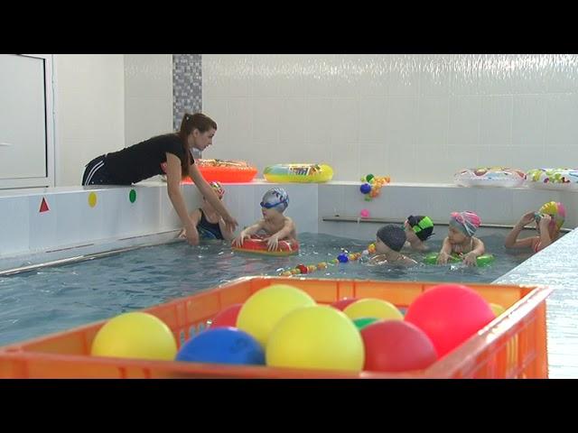 Оздоровление в бассейне и фиточай