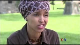 Ilhan Omar, première femme somalo-américaine musulmane élue à une assemblée législative