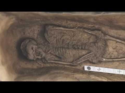 Jamestown Chancel Burial A 2993B 3D RenderPan
