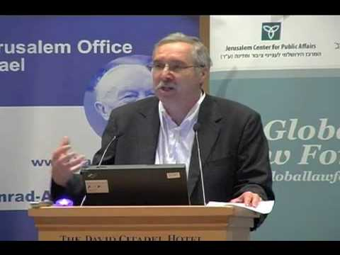 "NGOs Commit ""Lawfare"" Against Israel - Prof. Gerald Steinberg, Exec. Dir. of NGO Monitor"