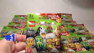 Открываем LEGO минифигурки 13 СЕРИЯ (minifigures) на русском #1(Сегодня, как и обещал, откроем пакетики САМОЙ НОВОЙ 13 СЕРИИ LEGO МИНИФИГУРОК! Сразу за этим видео ждите продол..., 2015-01-25T09:07:53.000Z)