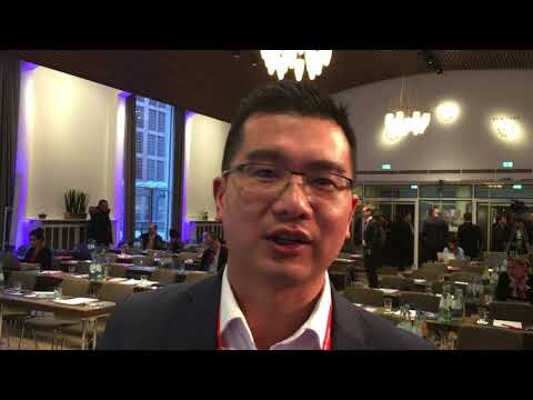 Michael Huynh from Branchspace at Hamburg Aviation Conference 2018