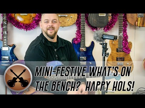 Christmas Mini 'What's on the Bench?'