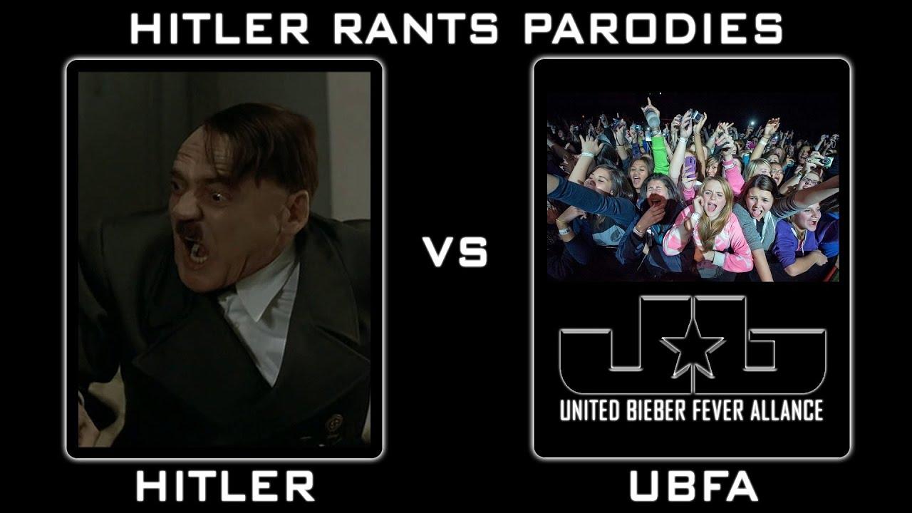 Hitler Vs Justin Bieber Fans: Episode II