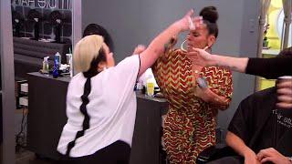 LA Hair Naja and Lisa fight