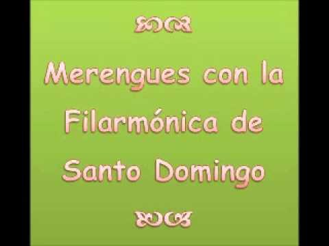 Merengues con la Filarmonica de Santo Domingo