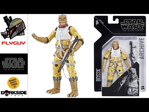 Star Wars The Black Series 6 Inch Archive 02 Bossk Toy Action Figure Review | By FLYGUY