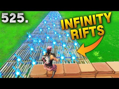 INFINITY RIFT PORTALS..! Fortnite Daily Best Moments Ep.525 Fortnite Battle Royale Funny Moments