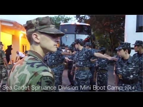 USNSCC Spruance Mini Boot Camp 2014 - Sea Cadets