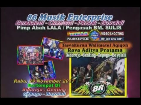 Gedruk Mania MG 86 Production Full Album Live In Sidorejo - Trias Multimedia