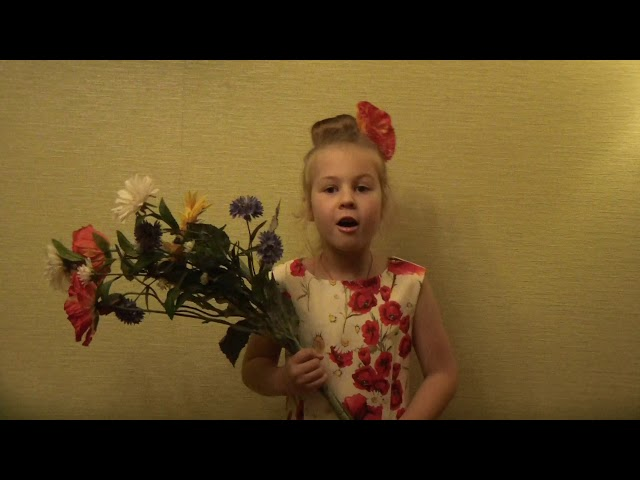 Изображение предпросмотра прочтения – АннаСвиридова читает произведение «Здравствуй, лето!» Т.В.Боковой