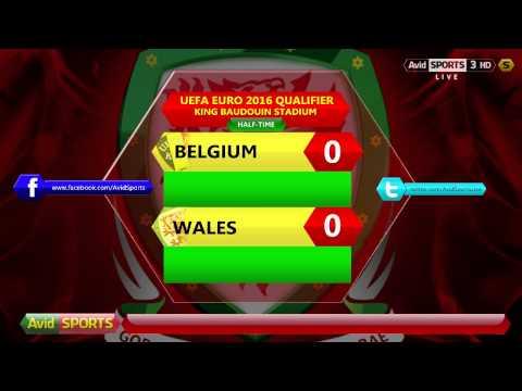 Avid Sports Live Radio - UEFA Euro 2016 Qualifier - Belgium vs. Wales