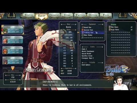 Trails in the Sky the 3rd Part 6: Silver Path Agony, Olivier, and Zin [Twitch VOD]