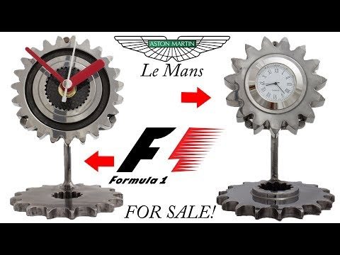 Formula 1 and Aston Martin Le Mans clocks!