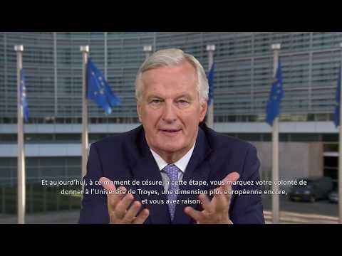 Michel Barnier soutient l'Université Européenne de Technologie
