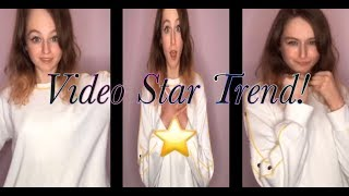 How to do the Video Star Trend! (FREE!)