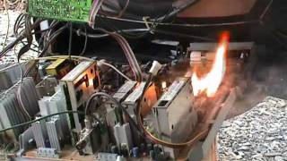 TV circuit board burn out on 600 Volts AC - Part 1