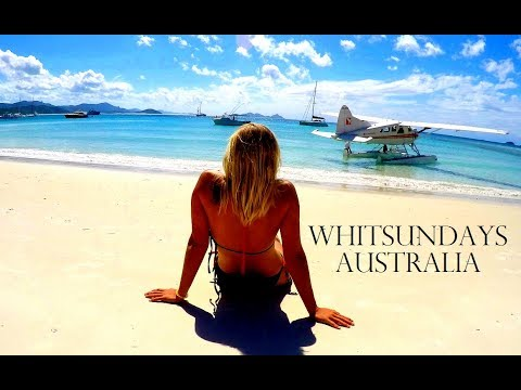 SAILING TO WHITSUNDAY ISLANDS 🐠 WHITEHAVEN BEACH ⛵Worldtravel Vlog#47 Australia Adventure