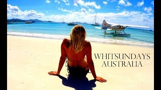 SAILING TO WHITSUNDAY ISLANDS 🐠 WHITEHAVEN BEACH ⛵Worldtravel Vlog#47 Australia Adventure