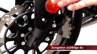 Обзор мотоцикла Zongshen ZS250GS-3A