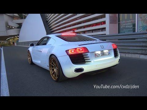 Audi R8 Le Mans Edition - Revs it to the Limit!