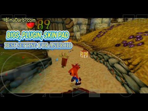 PS1 Android) Crash Bandicoot 3: Warped | ePSXe Android | HD