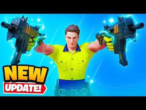 *NEW* SMG in Fortnite (UPDATE) - x2Twins