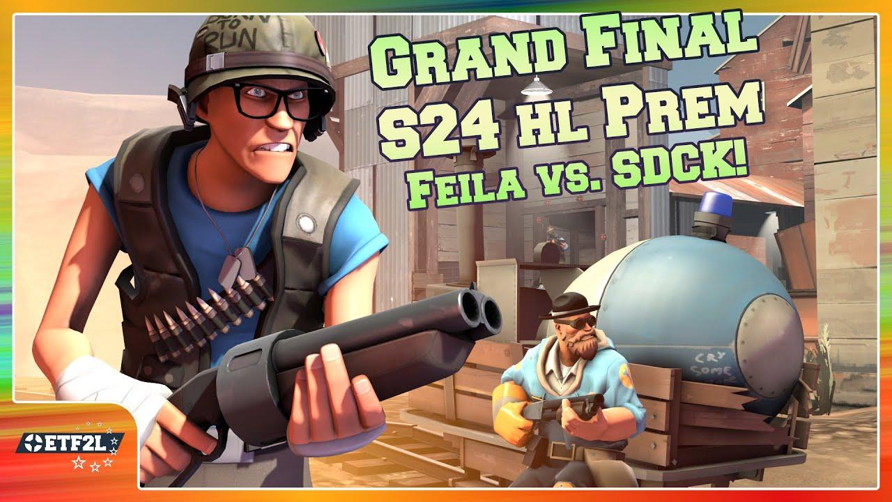 ETF2L Highlander S24 Prem Grand Final: SDCK! vs. Feila eSports [TF2 esport]