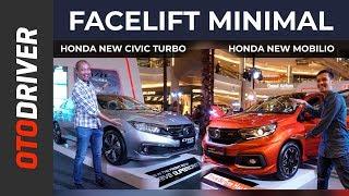 Download Video Honda Mobilio 2019 & Honda Civic Turbo 2019 | First Impression | OtoDriver MP3 3GP MP4